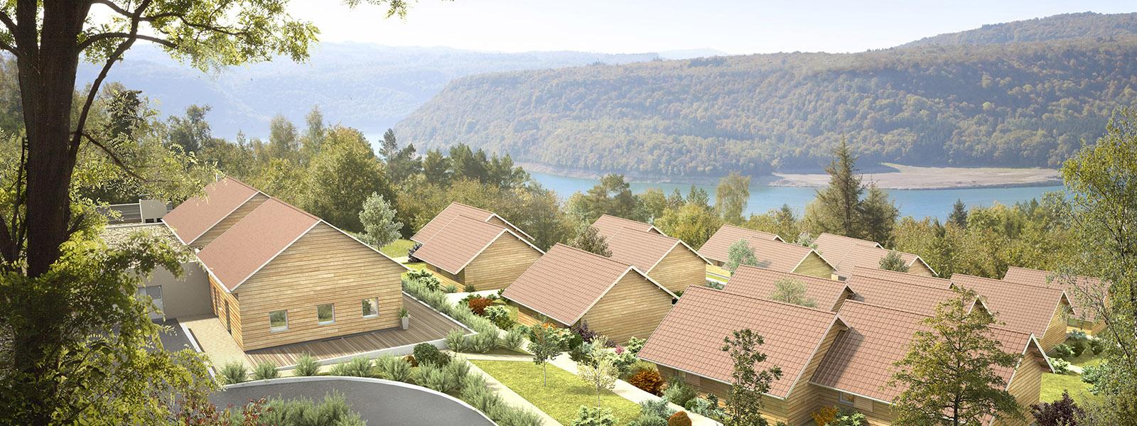 Chalets du Lac de Vouglans - Village Vacances Locations dans le Jura