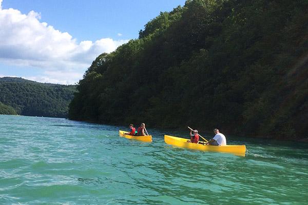 Kayak - Les Chalets du Lac de Vouglans