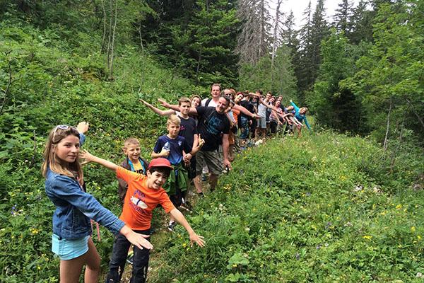 Randonnée dans le Jura - Les Chalets du Lac de Vouglans