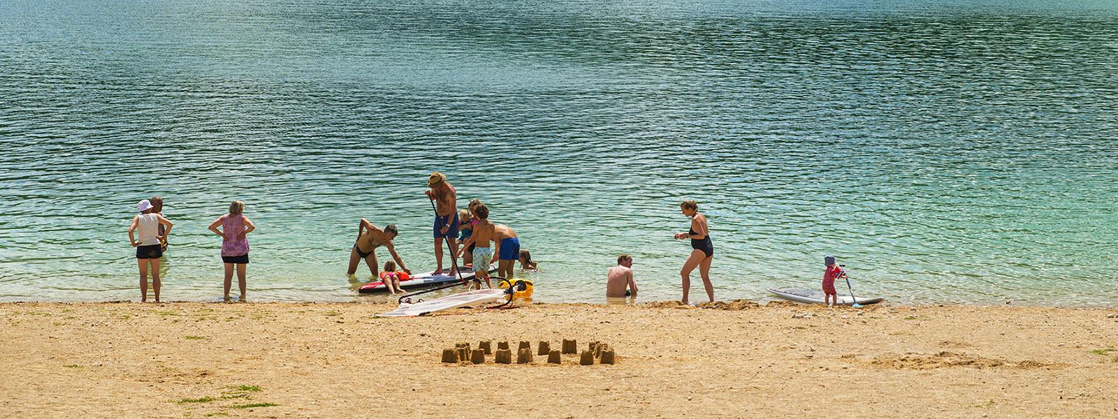 Vacances d'été dans le Haut-Jura - Les Chalets du Lac de Vouglans - Cap France
